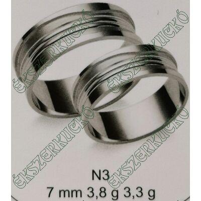 Fehér arany  karikagyűrűk