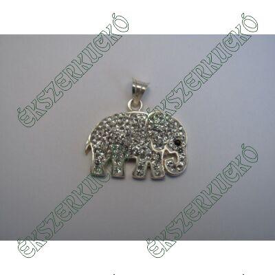 Ezüst elefánt medál