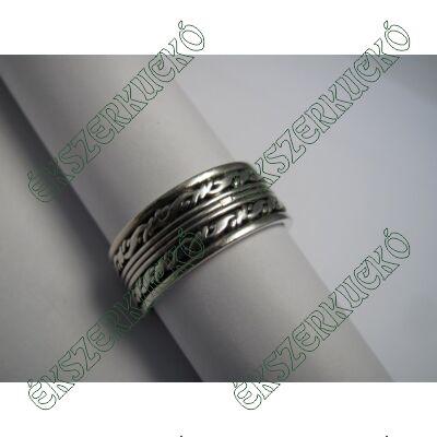 Ezüst antikolt gyűrű