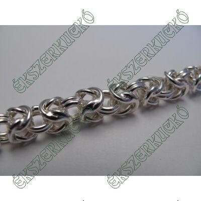 Ezüst királylánc karkötő