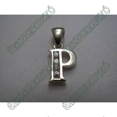 Ezüst betű medál