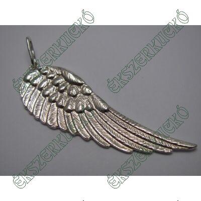 Ezüst angyalszárny medál