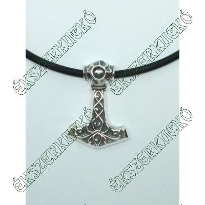 Ezüst antikolt Thor kalapács medál