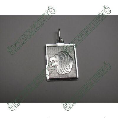 Ezüst horoszkóp medál - oroszlán