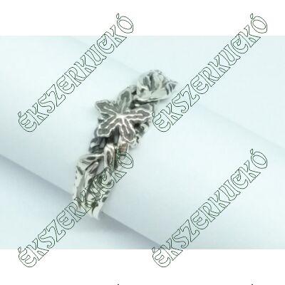 Ezüst antikolt erdész gyűrű