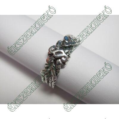 Ezüst antikolt jogász gyűrű