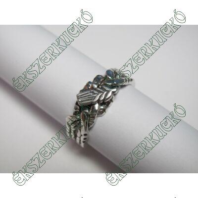 Ezüst antikolt gazdász gyűrű