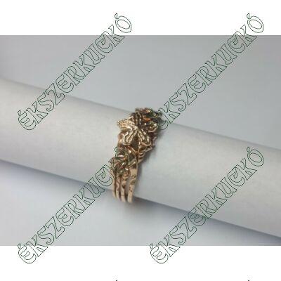 14 karátos arany ördöggyűrű (70-79-es méret közt)