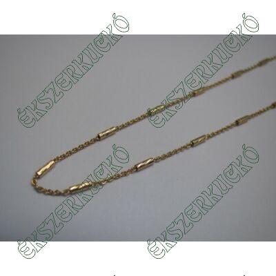 Vésett arany nyaklánc