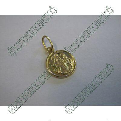 Arany horoszkópos medál