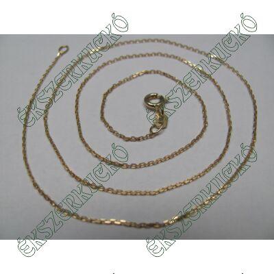 Sárgaarany vésett nyaklánc