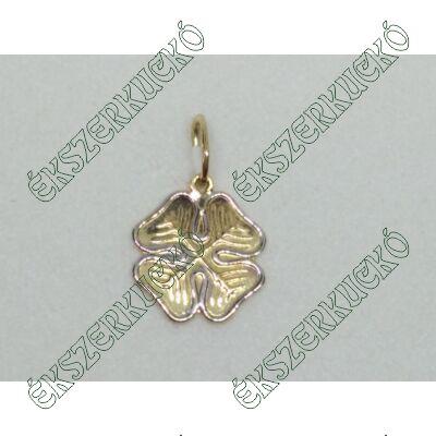 Sárga - fehér arany medál
