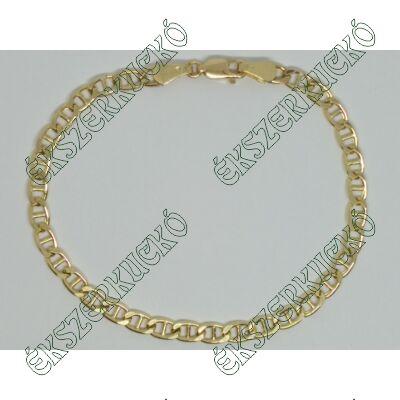 Sárga arany karkötő