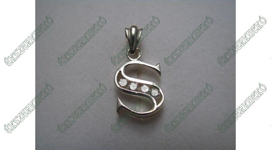 edcc42425 Ezüst betű medál